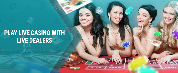 Curseur de casino en direct 22Bet