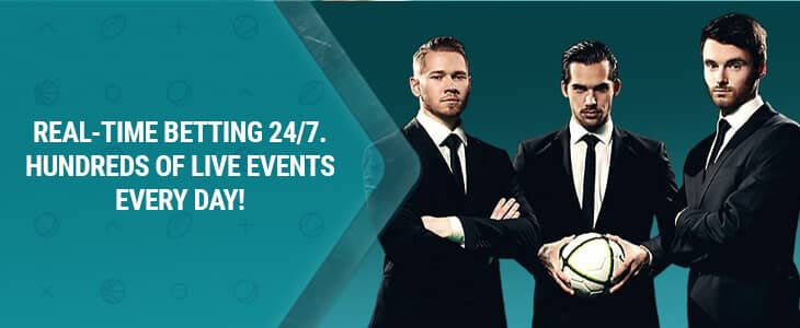 22Bet Live Betting